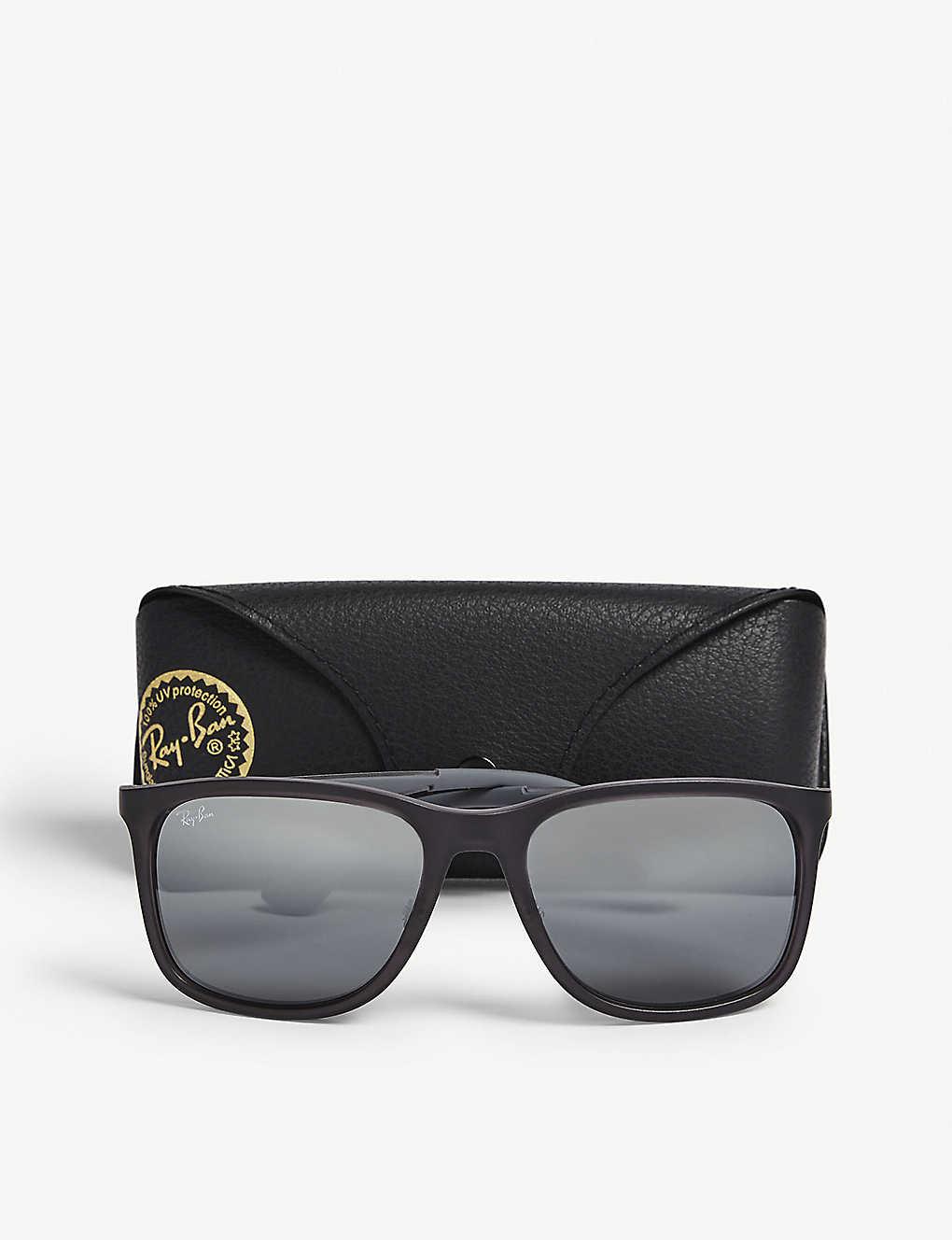74d178baebc81 ... RB4313 square-frame sunglasses - Grey ...