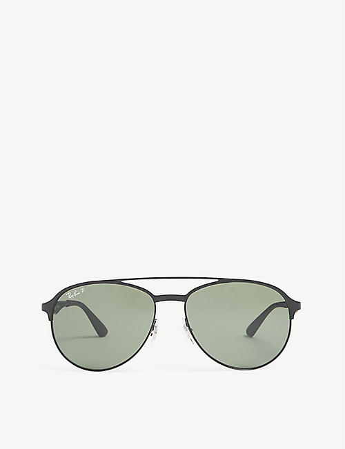 ff64d924f29c5 RAY-BAN RB3606 pilot sunglasses