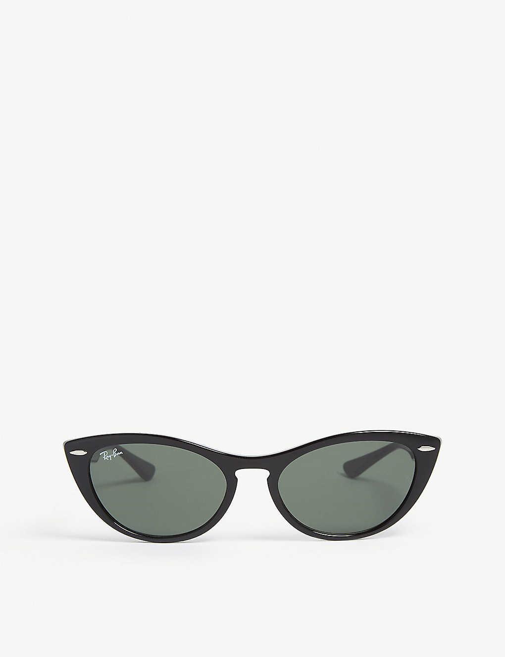 d091ef70cdaa52 RAY-BAN - RB4314 Nina cat-eye-frame sunglasses