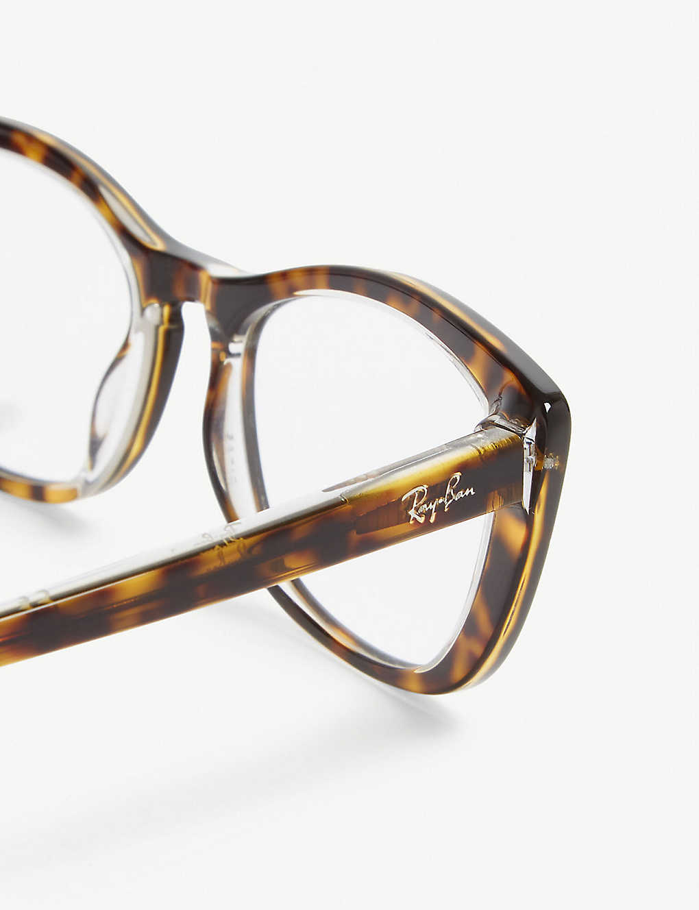 3c3cccc5633bb ... RB5366 cat-eye-frame glasses - Havana