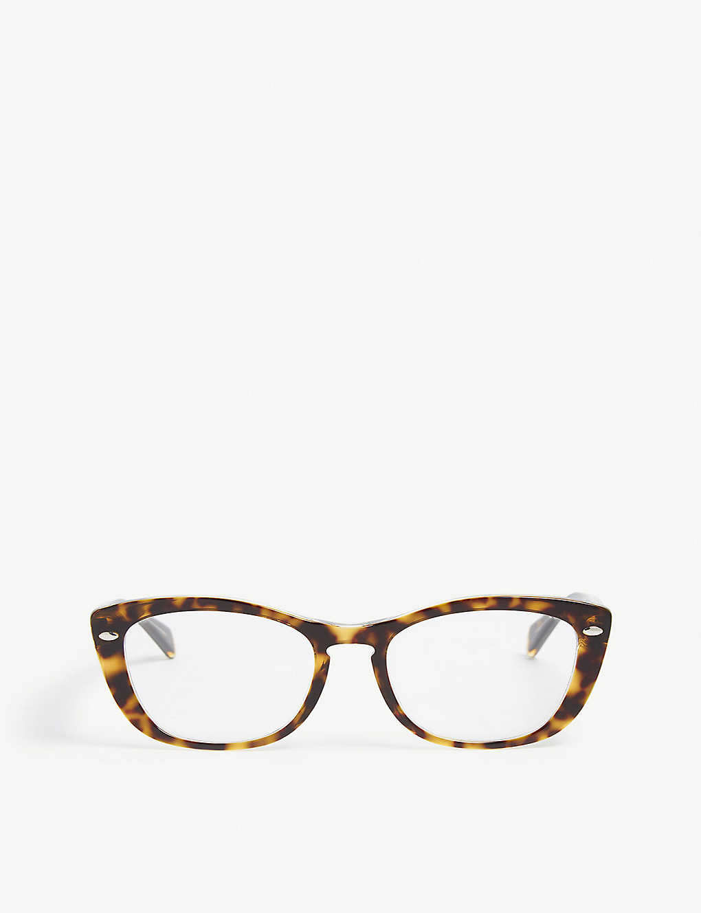 b8eef515a8eb7 RB5366 cat-eye-frame glasses - Havana ...