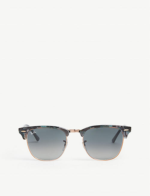 RAY-BAN: RB3016 Clubmaster square-frame sunglasses