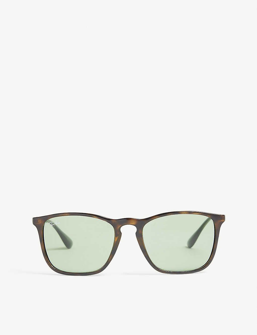 edd2cc5049bd1 RB4187 Chris square-frame sunglasses - Havana ...