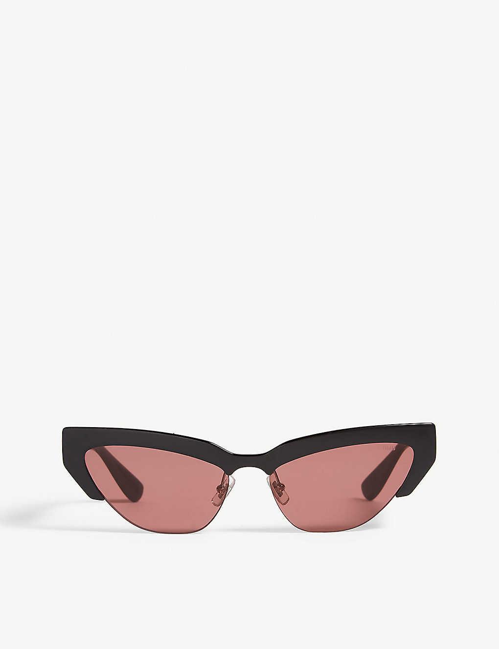 0de104d70 MIU MIU - Mu 04US 59 cat eye-frame sunglasses | Selfridges.com