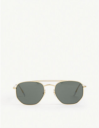 RAY-BAN: RB3609 square-frame sunglasses
