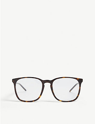 RAY-BAN: Rx5387 square-frame optical glasses