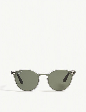 RAY-BAN RB4380 cat-eye-frame sunglasses