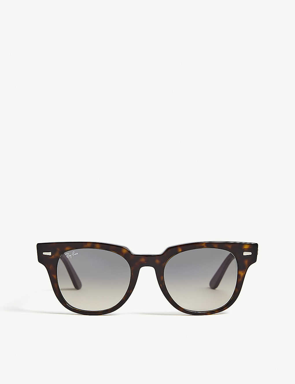RAY-BAN: RB2168 Meteor square-frame Havana sunglasses