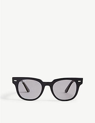 RAY-BAN: RB2168 Meteor square-frame sunglasses