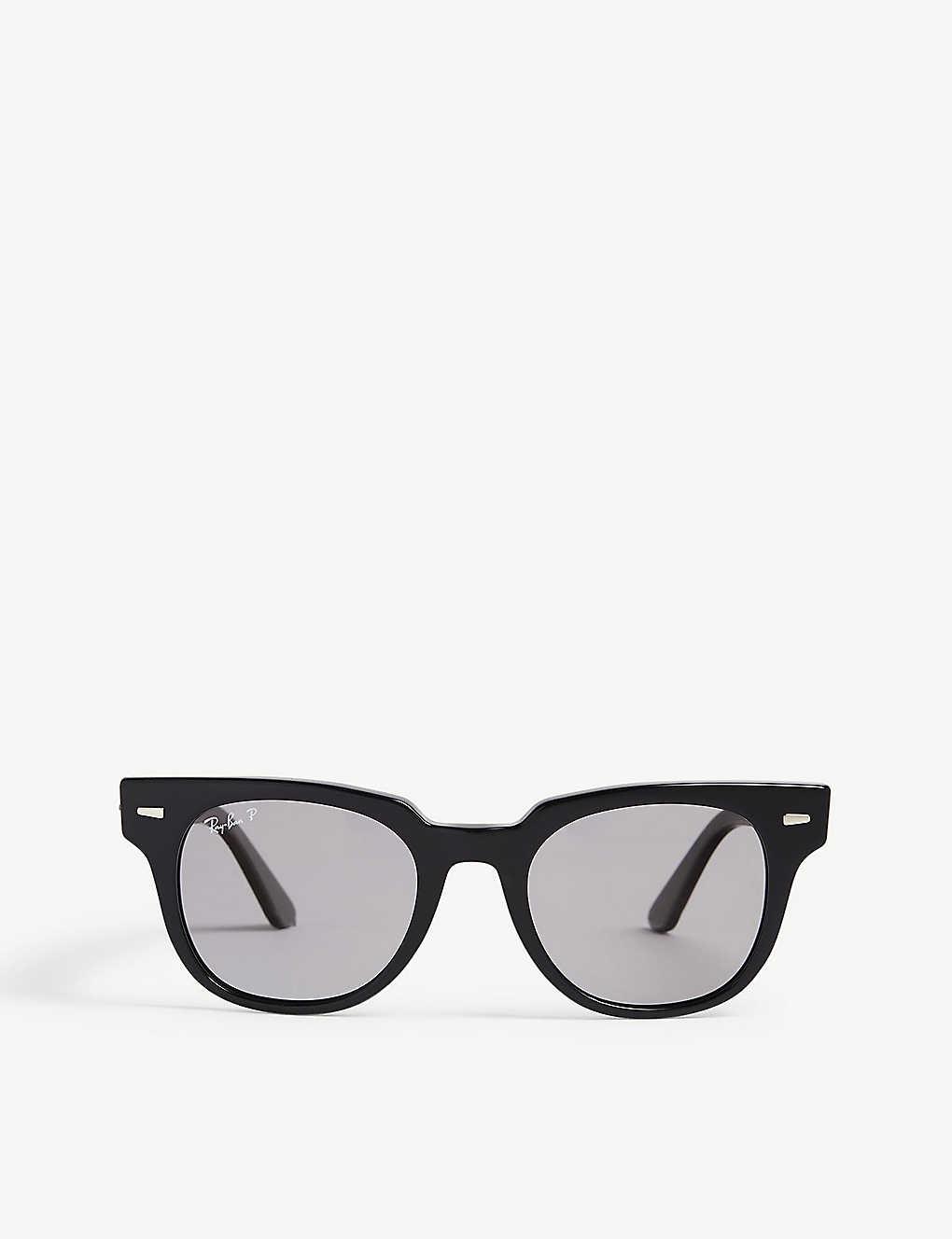 616f7fcf419cd RB2168 Meteor square-frame sunglasses - Black ...