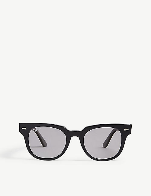 6a3c0b57c92c73 RAY-BAN RB2168 Meteor square-frame sunglasses