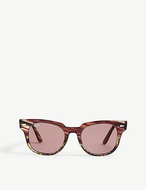 9e6493f1f22a RAY-BAN RB2168 Meteor square-frame sunglasses