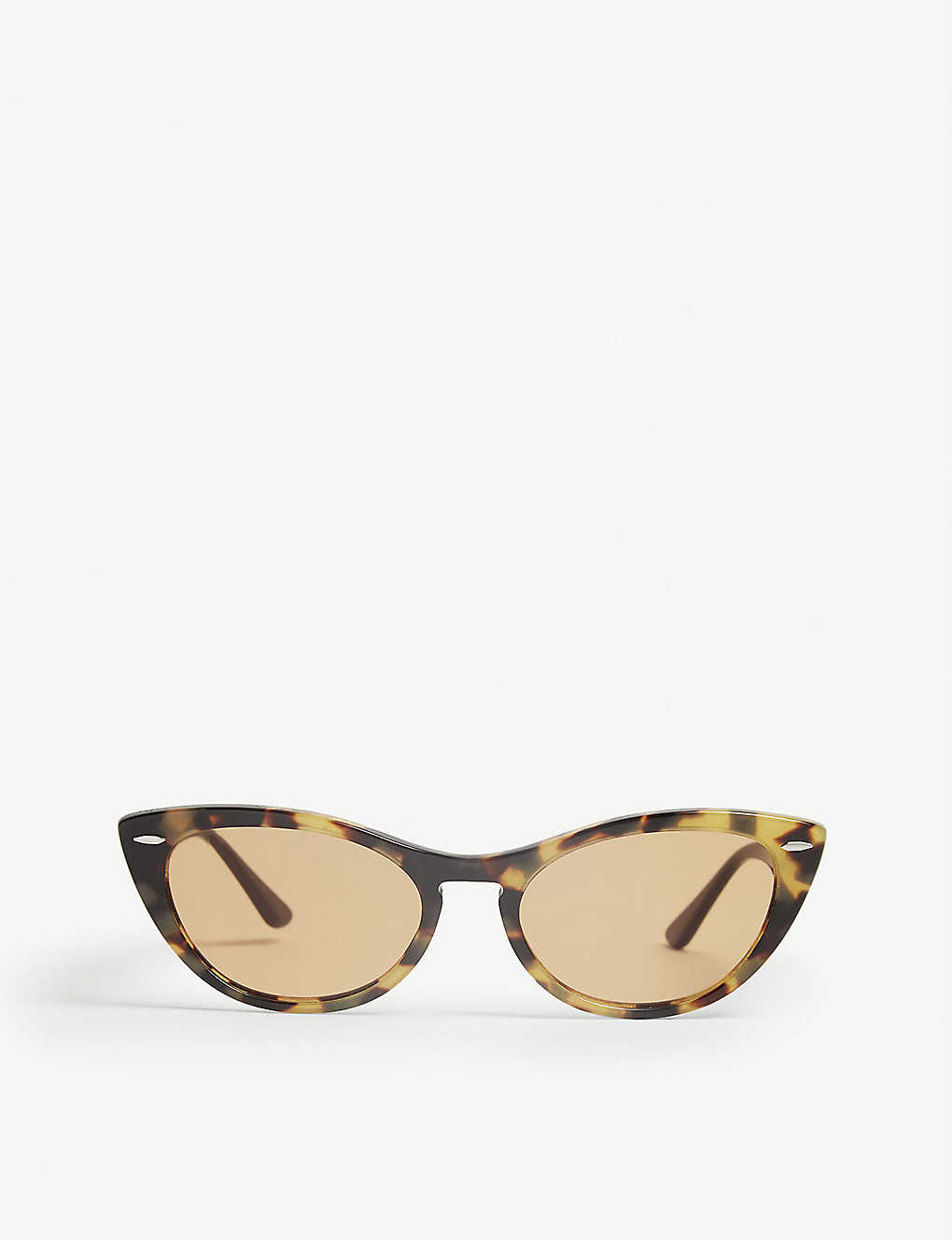 RAY-BAN: RB3847 oval-frame sunglasses