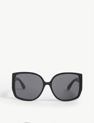 BURBERRY Butterfly-frame sunglasses