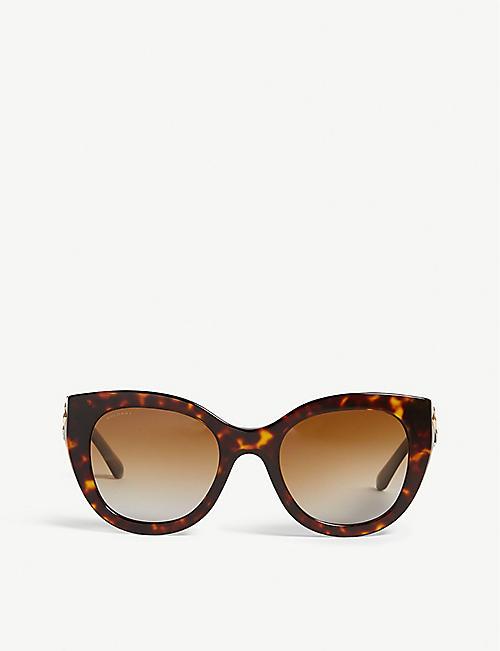 dce300542d5e BVLGARI BV8214B cat-eye-frame sunglasses
