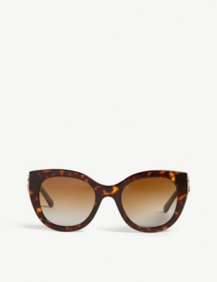 BVLGARI BV8214B cat-eye-frame sunglasses