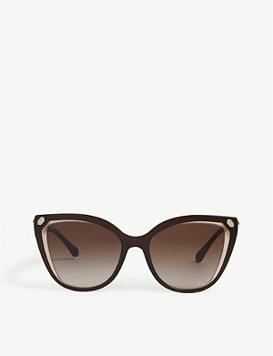 BVLGARI BV8212 cat-eye-frame sunglasses