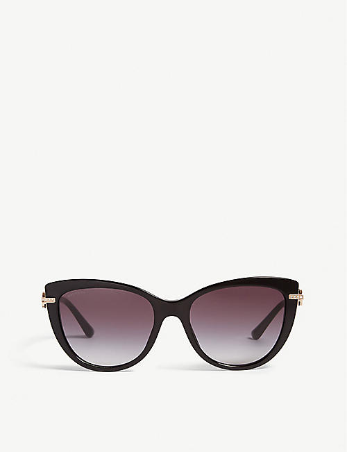 BVLGARI Bv8218b cat-eye sunglasses