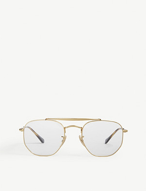 RAY-BAN RB3648V pilot-frame sunglasses
