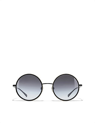CHANEL: Round sunglasses