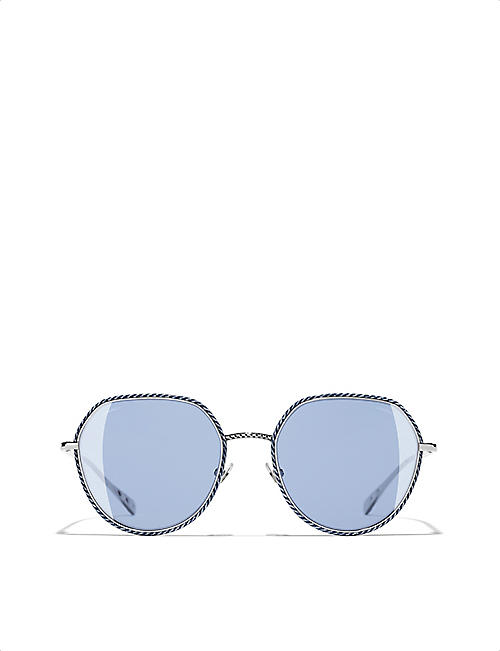 CHANEL Round sunglasses