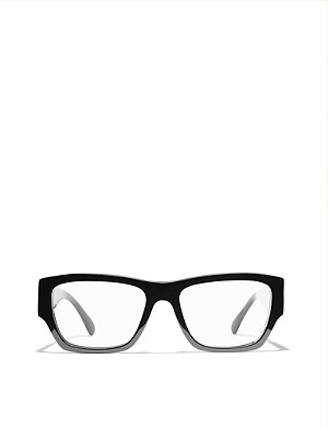 CHANEL CH3387 branded-arms rectangle-frame glasses