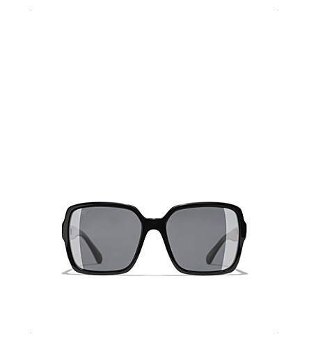 Chanel Sunglasses CH5408 embellished square-frame sunglasses
