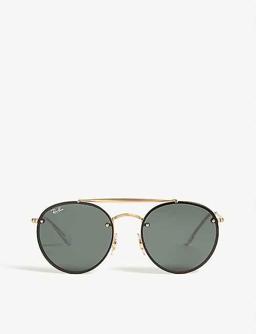 617f47fd7a RAY-BAN RB3614 round-frame sunglasses