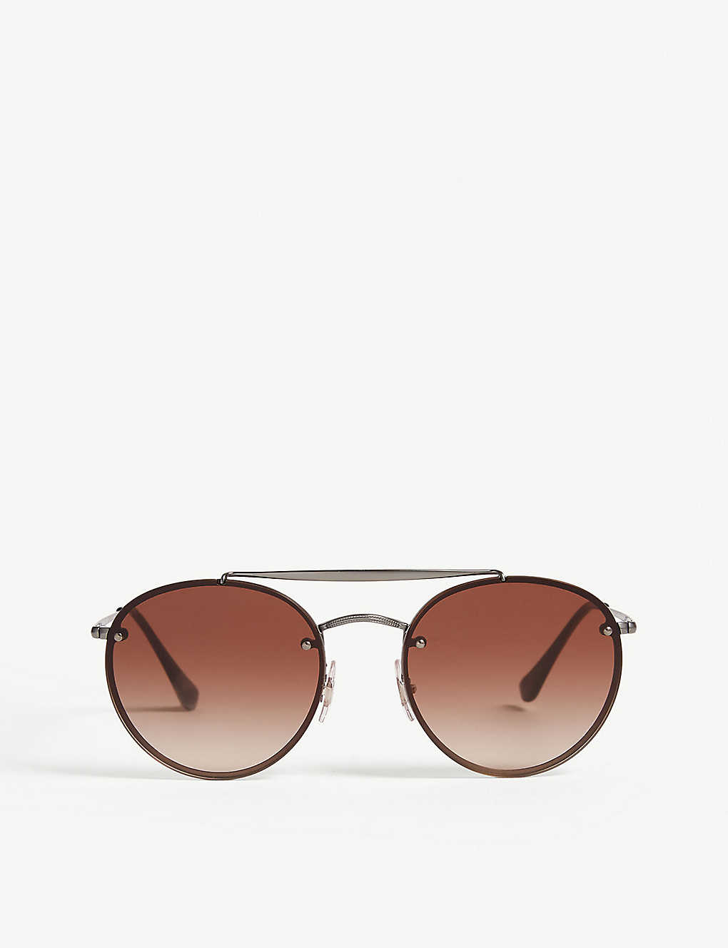 RAY-BAN: RB3614 round-frame sunglasses
