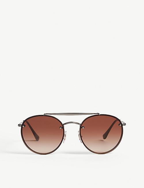 aa6bf5590f3b Ray Ban Sunglasses - Aviators   Wayfarers
