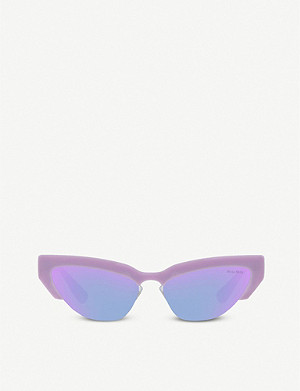 MIU MIU Miu Miu cat-eye frame sunglasses