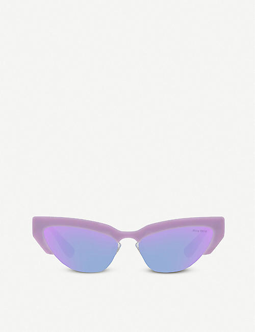 9cbe1c9c5d3c MIU MIU - Sunglasses - Accessories - Womens - Selfridges | Shop Online