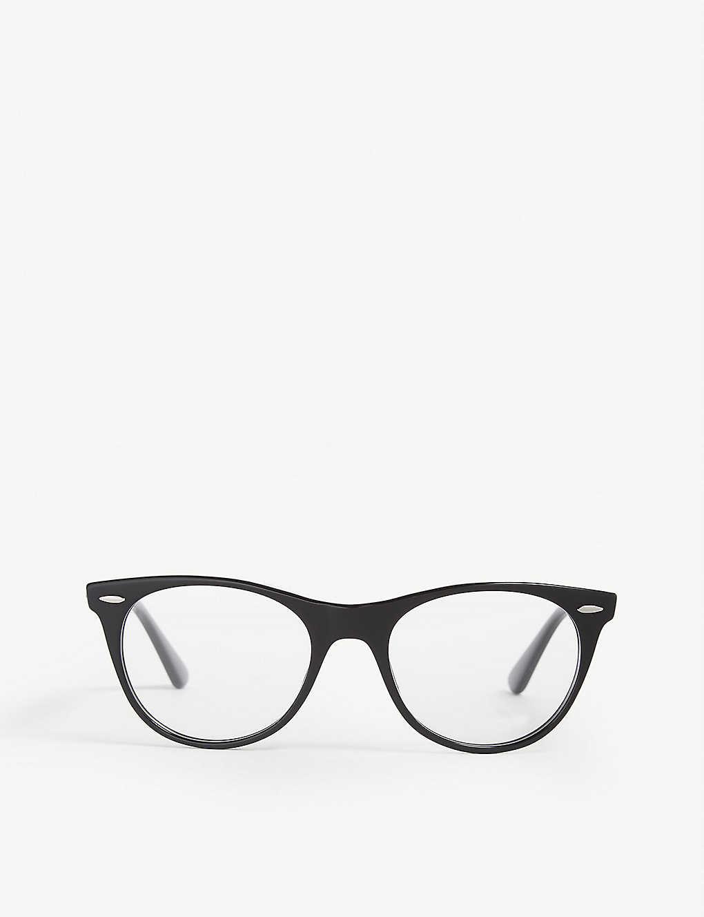 2fc994e16cc7 RAY-BAN - RB2185 square-frame glasses | Selfridges.com