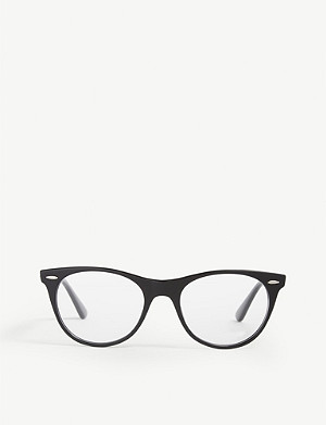RAY-BAN RB2185 square-frame glasses