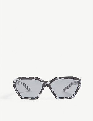 PRADA Irregular frame sunglasses