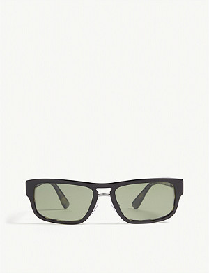 PRADA PR05V rectangle-frame sunglasses