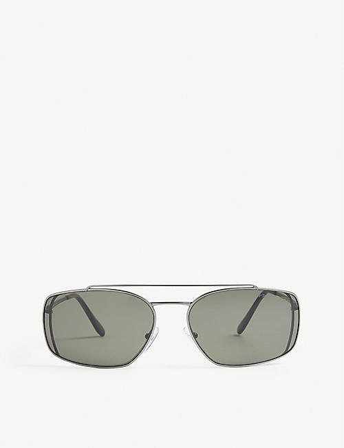 PRADA: Square frame sunglasses