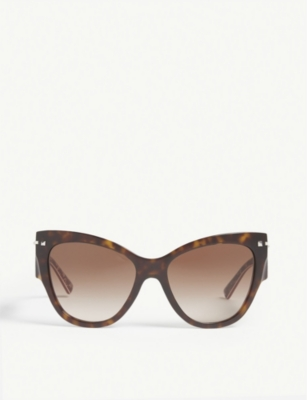 VALENTINO VA4028 cat-eye-frame sunglasses