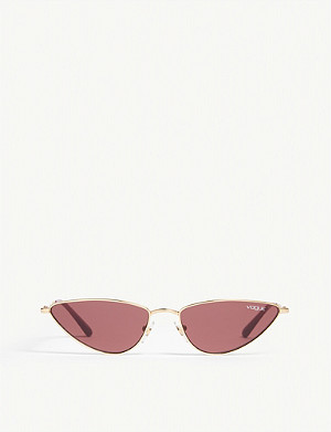 VOGUE Gigi Hadid Lafayette cat eye-frame sunglasses