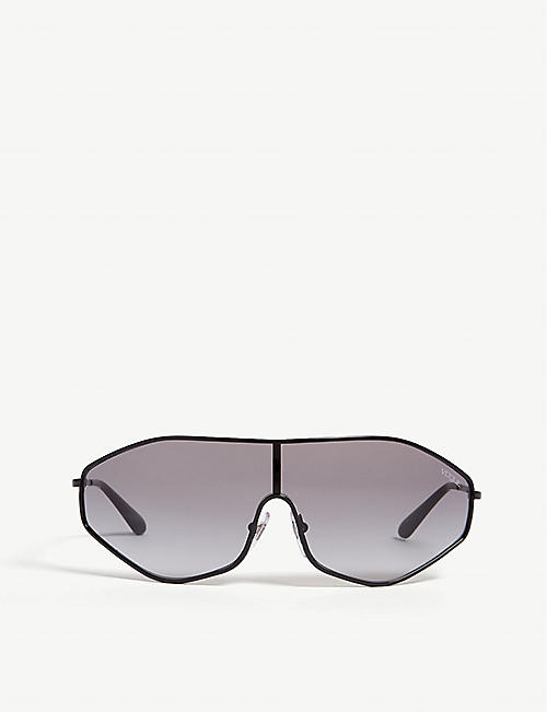 VOGUE: G-Vision irregular-frame sunglasses