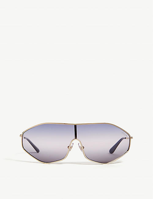 VOGUE G-Vision irregular-frame sunglasses