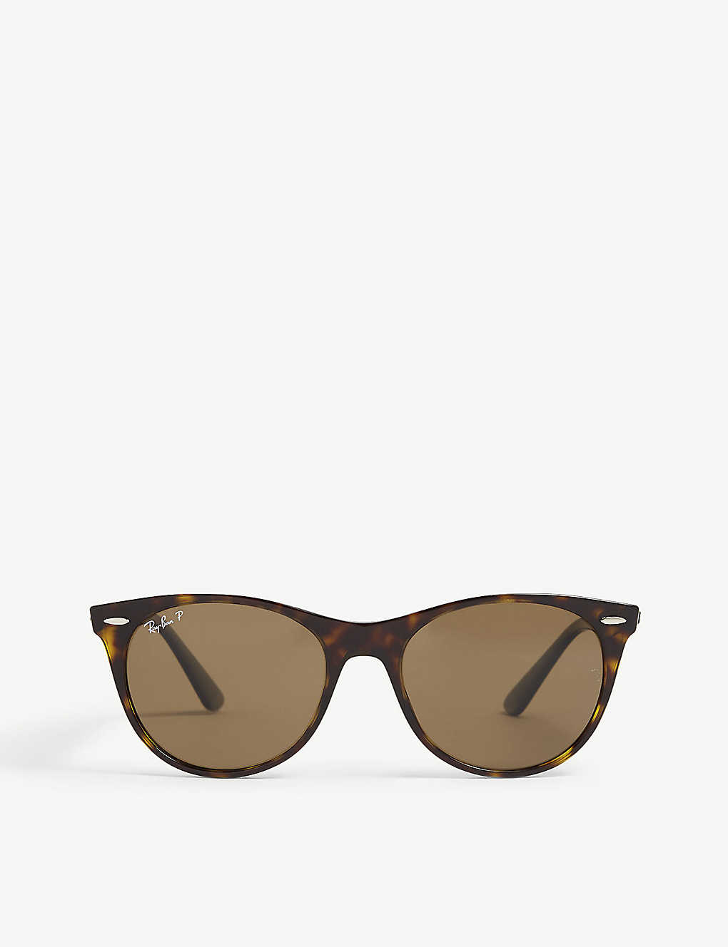 RAY-BAN: RB2185 square-frame Havana sunglasses