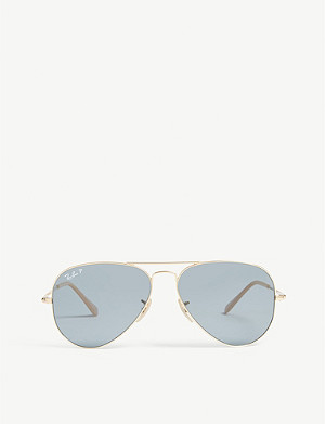 RAY-BAN RB3689 Aviator sunglasses