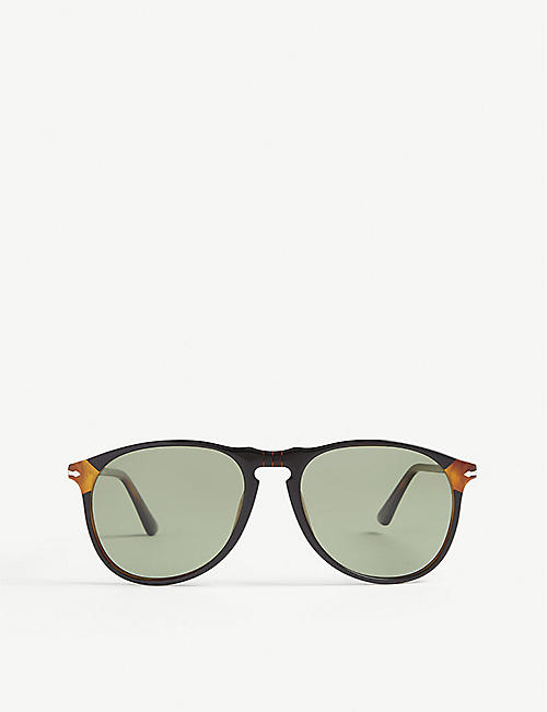 PERSOL PO6649 aviator sunglasses