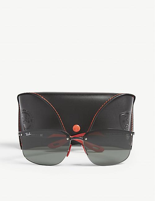 2f6ae97a418a RAY-BAN RB4322 Ferrari rectangle-frame sunglasses
