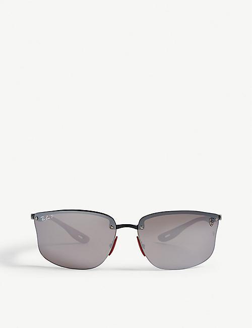 2f329bf7d5 RAY-BAN RB4322 Ferrari rectangle-frame sunglasses