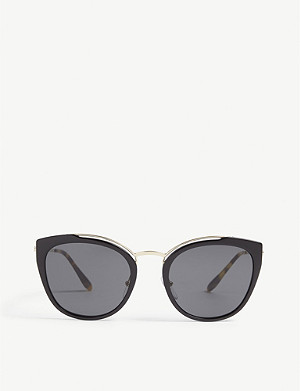 PRADA Cat-eye frame sunglasses