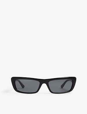 VOGUE Gigi Hadid Bella rectangle-frame sunglasses