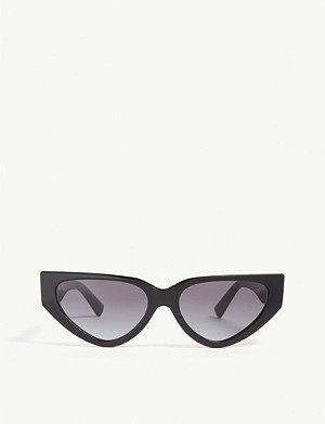 VALENTINO Micro cat-eye sunglasses