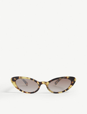 MIU MIU Mu 09Us cat-eye frame sunglasses